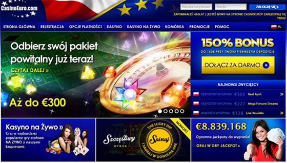 Casino euro karcianki